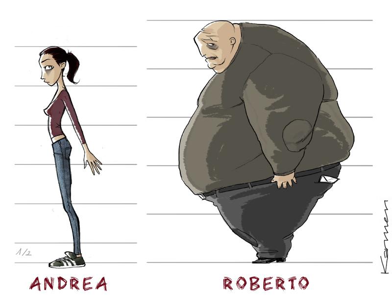 Adult Roberto & Andrea